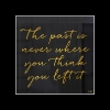 the past is never...